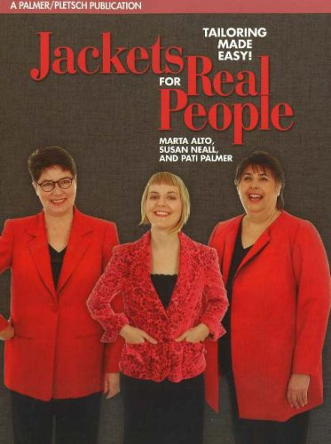 Jackets for Real People Tailoring Made Easy! 4th 2006 edition cover