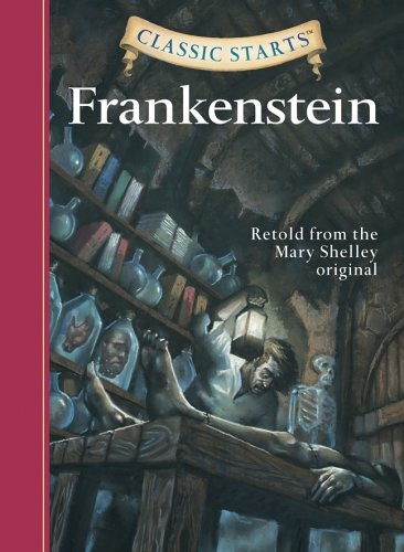 Classic Starts Frankenstein- O/P   2006 9781402726668 Front Cover