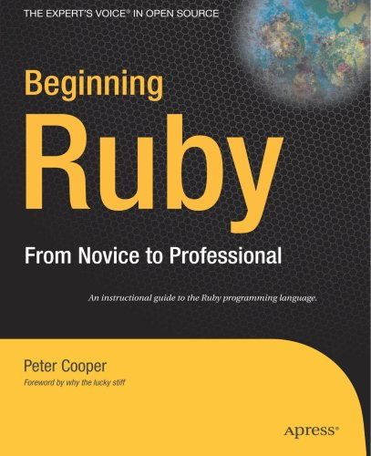 Ruby From Novice to Professional N/A edition cover