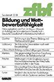 Bildung Und Wettbewerbsfähigkeit:   1981 edition cover