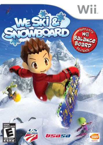 We Ski and Snowboard Nintendo Wii artwork