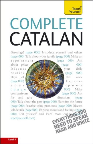 Complete Catalan Everything You Need to Speak Read and Write 3rd 2011 edition cover