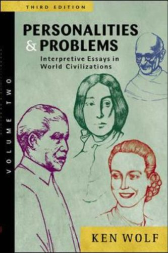 Personalities and Problems Interpretive Essays in World Civilizations 3rd 2005 (Revised) edition cover