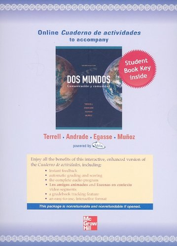 Dos Mundos Quia Combined WBLM Access Card:  2009 edition cover