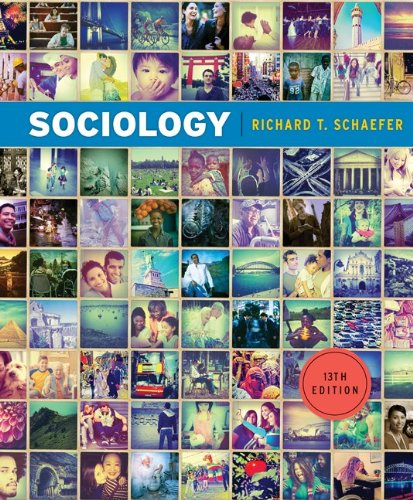 Sociology 13th 2012 edition cover