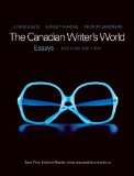 Canadian Writer's World Essays 2nd 2012 9780135066669 Front Cover