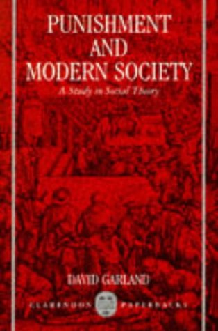 Punishment and Modern Society N/A edition cover