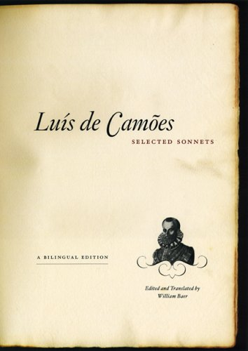 Lu�s De Camoes - Selected S�nnets   2005 9780226092669 Front Cover