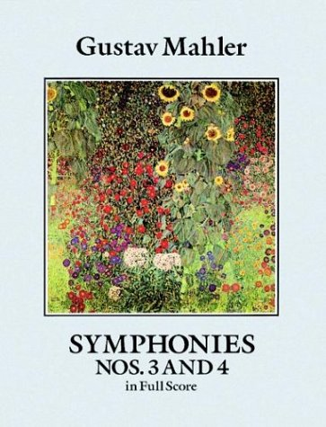 Symphonies Nos. 3 and 4 in Full Score  N/A edition cover