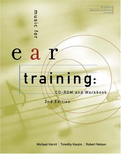 Music for Ear Training  2nd 2005 (Revised) 9780534627669 Front Cover