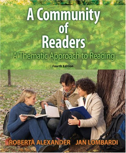 Community of Readers A Thematic Approach to Reading 4th 2007 9780618918669 Front Cover