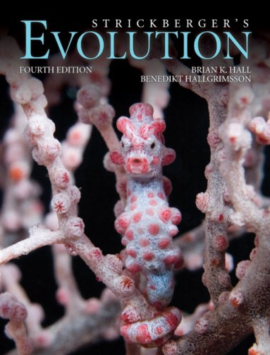 Strickberger's Evolution  4th 2008 (Revised) edition cover