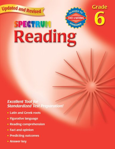 Reading, Grade 6   2007 9780769638669 Front Cover