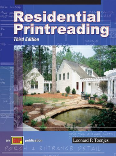 Residential Printreading 3rd Edition   2005 edition cover