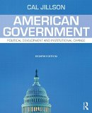 American Government: Political Development and Institutional Change  2015 edition cover