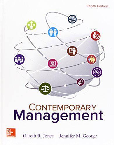 Contemporary Management:   2017 9781259732669 Front Cover