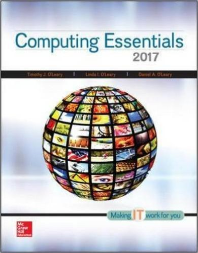 COMPUTING ESSENTIALS 2015:COMP-W/ACCESS N/A 9781259844669 Front Cover