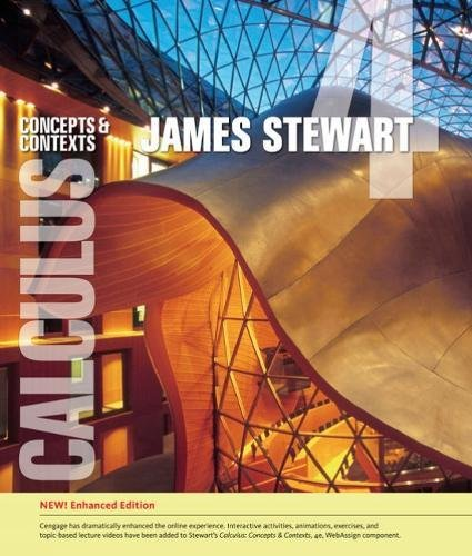 Cover art for Calculus: Concepts and Contexts, Enhanced Edition, 4th Edition