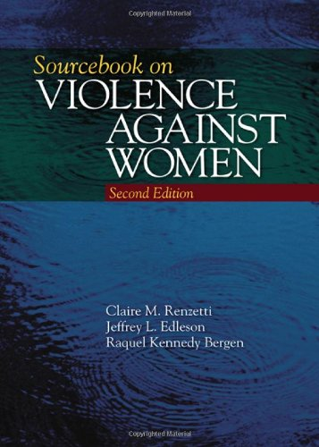 Sourcebook on Violence Against Women  2nd 2011 edition cover