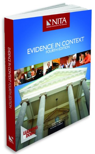 Evidence in Context  N/A edition cover