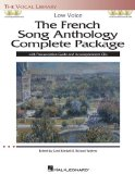 French Song Anthology Complete Package - Low Voice Book/Pronunciation Guide/Accompaniment CDs the Vocal Library N/A edition cover