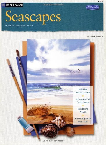 Seascapes in Watercolor  N/A 9781560100669 Front Cover