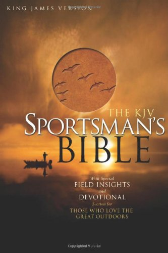 Sportsman's Bible-KJV- Compact   2008 (Large Type) edition cover