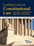 Leading Cases in Constitutional Law: A Compact Casebook for a Short Course  2015 edition cover
