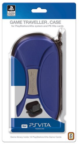 Licensed Playstation PS Vita Traveler Case for System And Accessories ((BLACK)) PlayStation Vita artwork