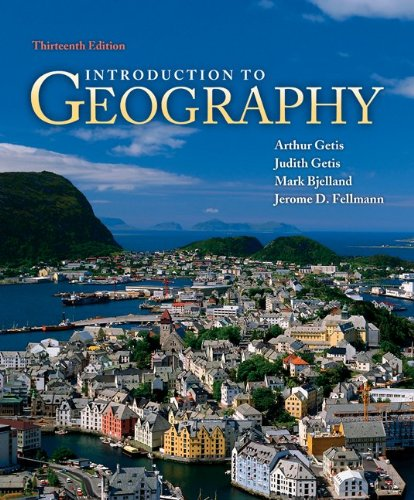 Introduction to Geography  13th 2011 edition cover