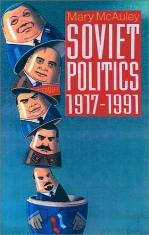Soviet Politics, 1917-1991   1992 edition cover