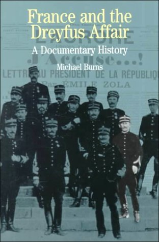 France and the Dreyfus Affair A Brief Documentary History  1999 edition cover