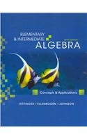 Elementary and Intermediate Algebra Concepts and Applications Plus MyMathLab Student Access Kit 5th 2010 edition cover