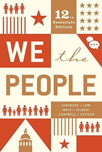 We the People  12th 9780393679670 Front Cover