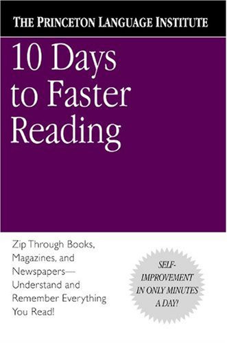 10 Days to Faster Reading   2001 edition cover