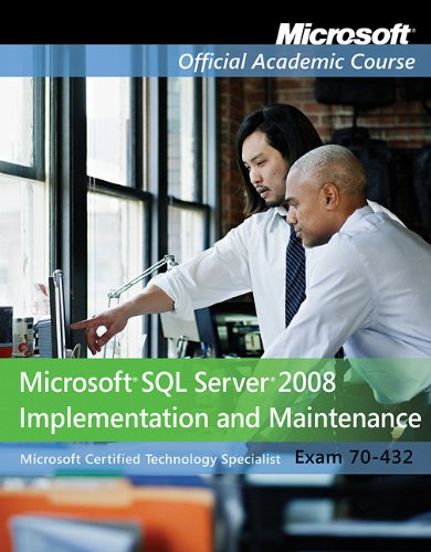 Optimizing and Maintaining a Database Administration Solution by Using Microsoft SQL Server 2005, Exam 70-444 Textbook N/A edition cover