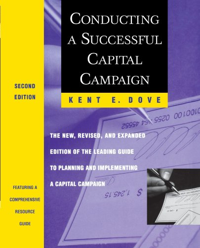 Conducting a Successful Capital Campaign The New, Revised, and Expanded Edition of the Leading Guide to Planning and Implementing a Capital Campaign 2nd 1999 edition cover