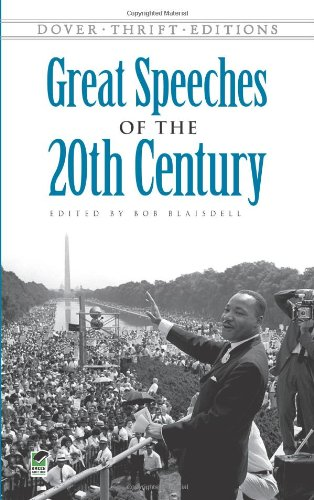 Great Speeches of the 20th Century   2010 edition cover