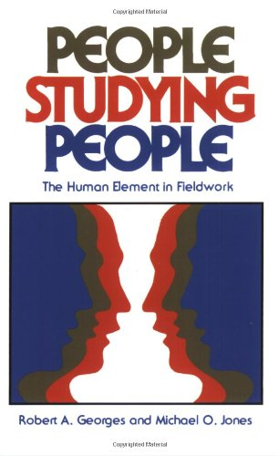 People Studying People The Human Element in Fieldwork  1980 edition cover