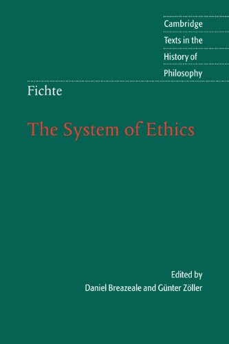 System of Ethics According to the Principles of the Wissenschaftslehre  2005 edition cover