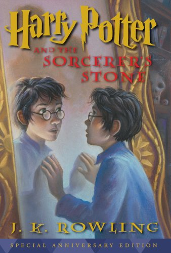 Harry Potter and the Sorcerer's Stone  10th (Anniversary) edition cover