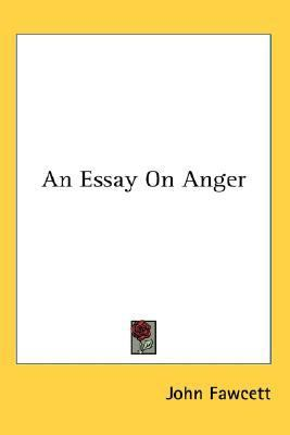 Essay on Anger N/A edition cover