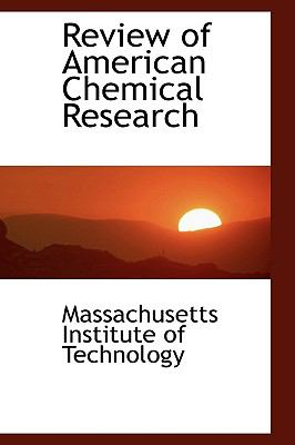 Review of American Chemical Research:   2008 edition cover
