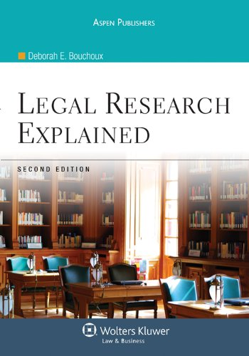 Legal Research Explained 2e  2nd 2010 (Revised) edition cover