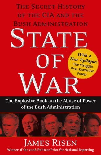State of War The Secret History of the CIA and the Bush Administration N/A edition cover