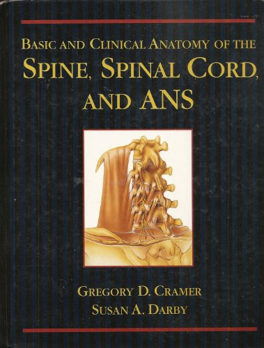 Spinal Anatomy   1995 edition cover