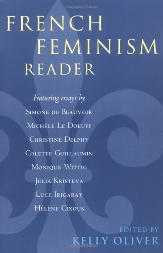French Feminism Reader   2000 edition cover