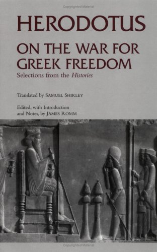 On the War for Greek Freedom Selections from the Histories  2003 edition cover