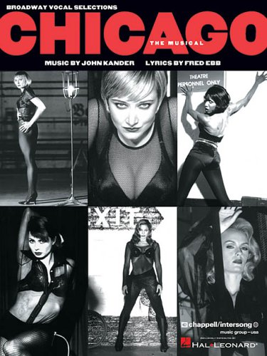 Chicago Vocal Selections N/A edition cover
