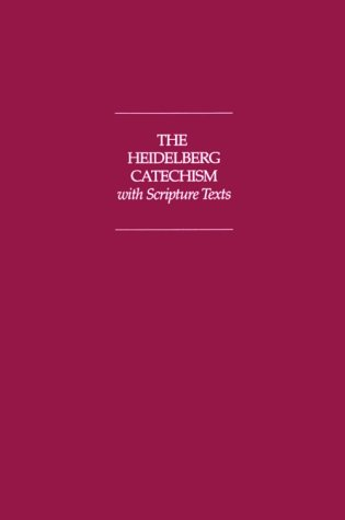 Heidelberg Catechism with NIV Scripture Texts  Revised edition cover